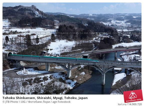 Купить «Tohoku Shinkansen, Shiraishi, Myagi, Tohoku, Japan», фото № 14900720, снято 22 июня 2018 г. (c) age Fotostock / Фотобанк Лори