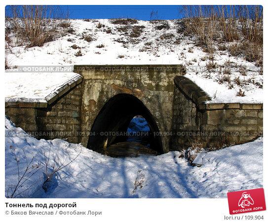 Тоннель под дорогой, фото № 109904, снято 25 марта 2007 г. (c) Бяков Вячеслав / Фотобанк Лори