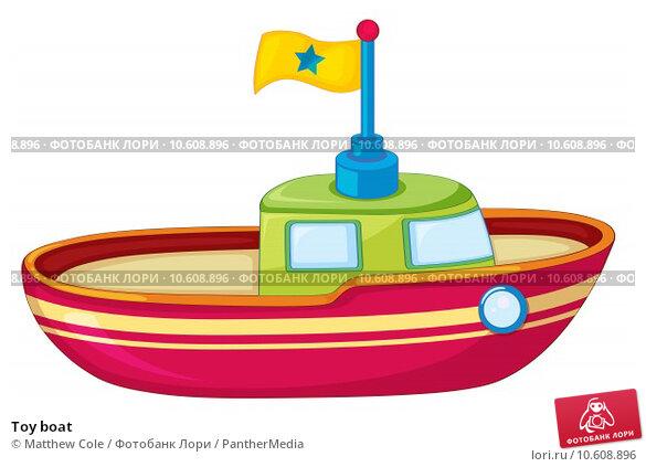 Toy boat. Стоковая иллюстрация, иллюстратор Matthew Cole / PantherMedia / Фотобанк Лори