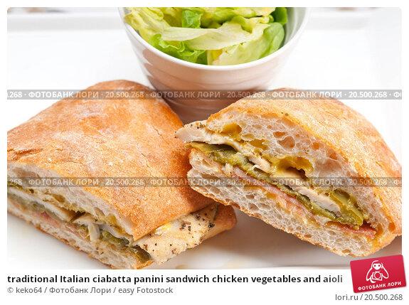 Панини с курицей рецепт с фото