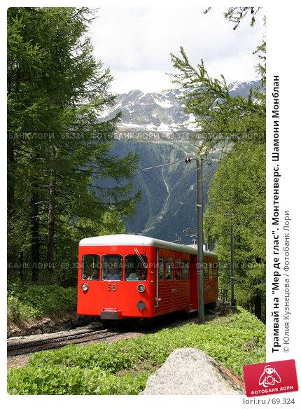 "Трамвай на ""Мер де глас"". Монтенверс. Шамони Монблан, фото № 69324, снято 6 июня 2007 г. (c) Юлия Кузнецова / Фотобанк Лори"