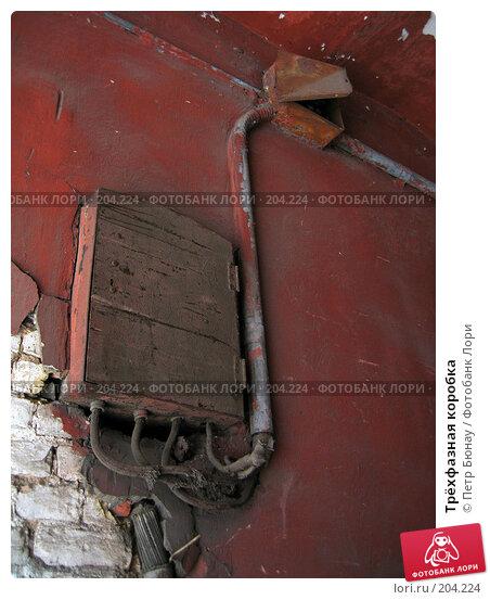Трёхфазная коробка, фото № 204224, снято 2 мая 2006 г. (c) Петр Бюнау / Фотобанк Лори