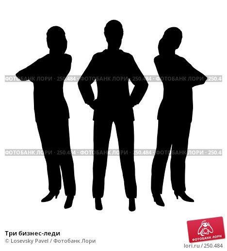 Купить «Три бизнес-леди», иллюстрация № 250484 (c) Losevsky Pavel / Фотобанк Лори
