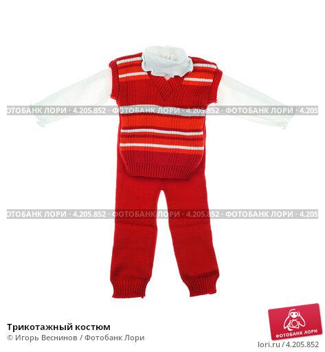 Купить «Трикотажный костюм», фото № 4205852, снято 18 января 2013 г. (c) Игорь Веснинов / Фотобанк Лори