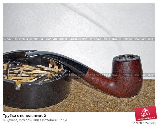 Трубка с пепельницей, фото № 252548, снято 14 января 2008 г. (c) Эдуард Межерицкий / Фотобанк Лори