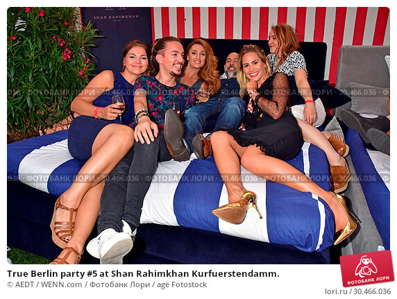 True Berlin party #5 at Shan Rahimkhan Kurfuerstendamm. (2017 год). Редакционное фото, фотограф AEDT / WENN.com / age Fotostock / Фотобанк Лори