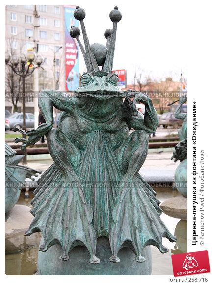 Царевна-лягушка из фонтана «Ожидание», фото № 258716, снято 19 апреля 2008 г. (c) Parmenov Pavel / Фотобанк Лори
