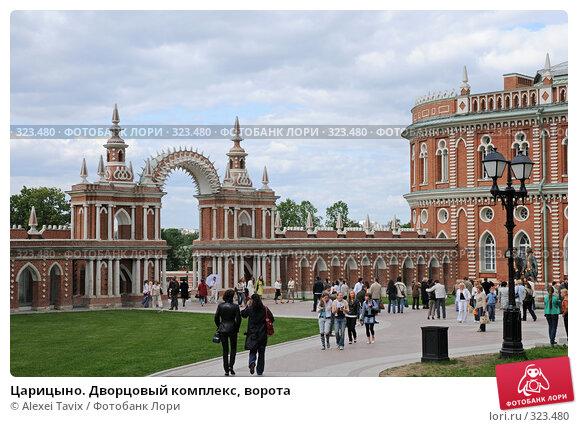 Купить «Царицыно. Дворцовый комплекс, ворота», эксклюзивное фото № 323480, снято 31 мая 2008 г. (c) Alexei Tavix / Фотобанк Лори