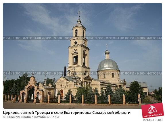 Церковь святой Троицы в селе Екатериновка Самарской области, фото № 9300, снято 20 января 2017 г. (c) Т.Кожевникова / Фотобанк Лори