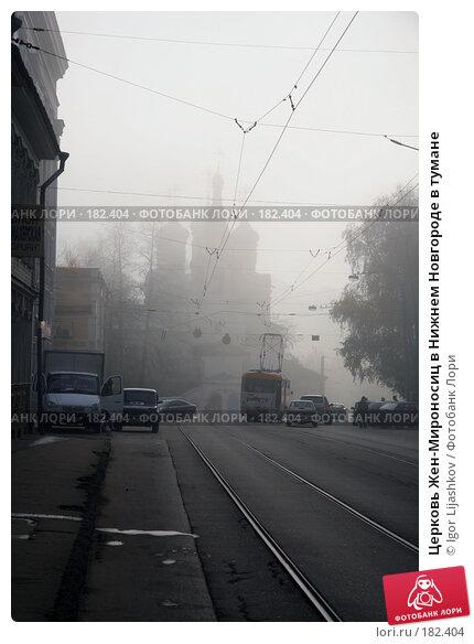 Церковь Жен-Мироносиц в Нижнем Новгороде в тумане, фото № 182404, снято 25 октября 2007 г. (c) Igor Lijashkov / Фотобанк Лори