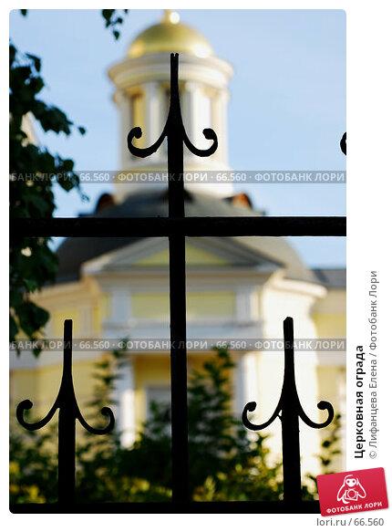 Купить «Церковная ограда», фото № 66560, снято 29 июля 2007 г. (c) Лифанцева Елена / Фотобанк Лори