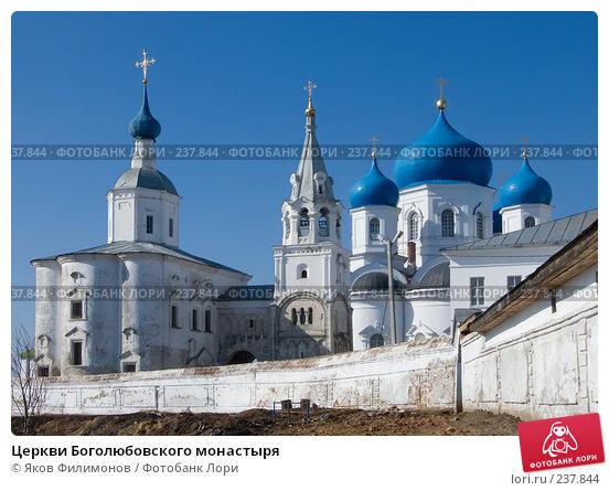 Церкви Боголюбовского монастыря, фото № 237844, снято 25 апреля 2017 г. (c) Яков Филимонов / Фотобанк Лори