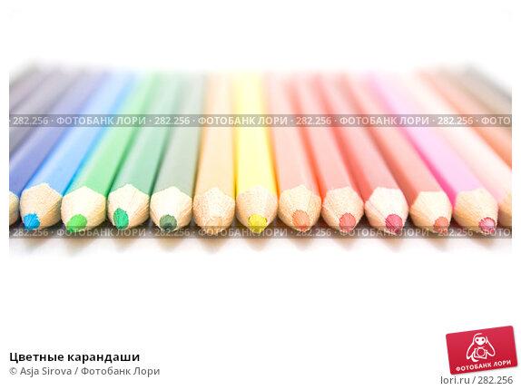 Цветные карандаши, фото № 282256, снято 27 апреля 2008 г. (c) Asja Sirova / Фотобанк Лори