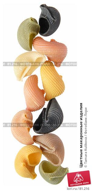 Цветные макаронные изделия, фото № 81216, снято 9 сентября 2007 г. (c) Tamara Kulikova / Фотобанк Лори