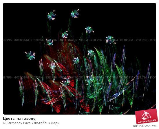 Цветы на газоне, иллюстрация № 258796 (c) Parmenov Pavel / Фотобанк Лори