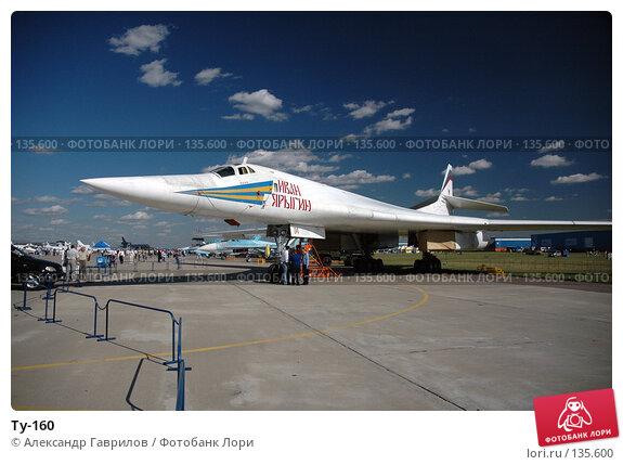 Ту-160, фото № 135600, снято 28 января 2004 г. (c) Александр Гаврилов / Фотобанк Лори