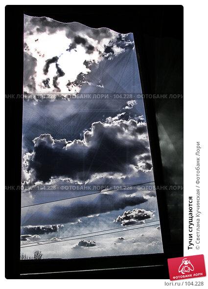 Тучи сгущаются, фото № 104228, снято 27 апреля 2017 г. (c) Светлана Кучинская / Фотобанк Лори
