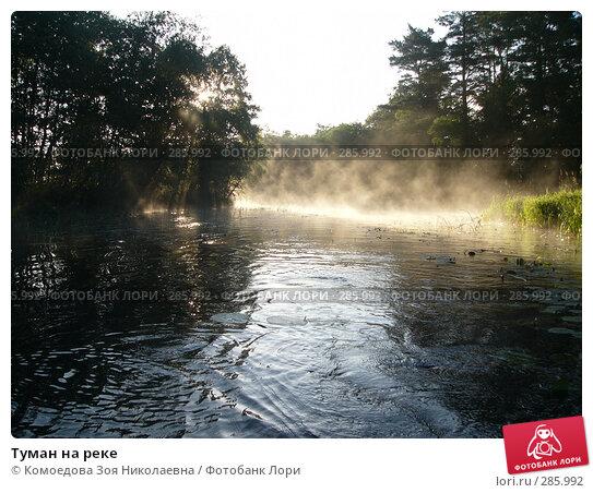 Туман на реке, фото № 285992, снято 11 июля 2005 г. (c) Комоедова Зоя Николаевна / Фотобанк Лори
