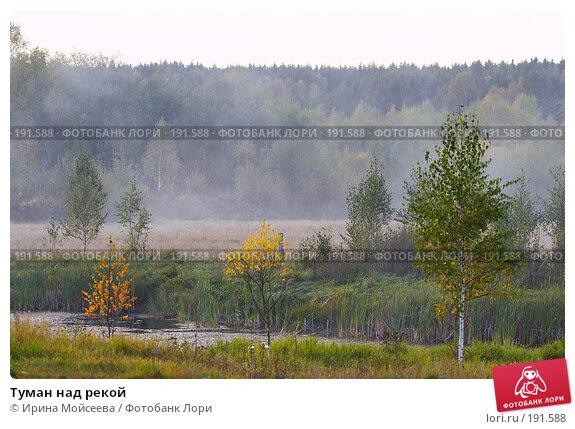 Туман над рекой, эксклюзивное фото № 191588, снято 26 сентября 2007 г. (c) Ирина Мойсеева / Фотобанк Лори