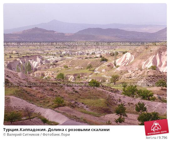 Турция.Каппадокия. Долина с розовыми скалами, фото № 9796, снято 6 июня 2004 г. (c) Валерий Ситников / Фотобанк Лори