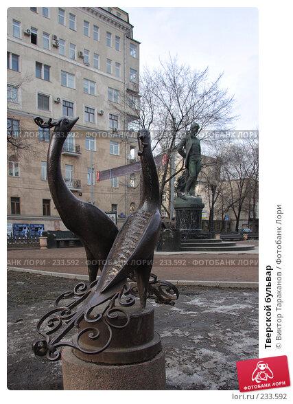 Купить «Тверской бульвар», эксклюзивное фото № 233592, снято 22 марта 2008 г. (c) Виктор Тараканов / Фотобанк Лори