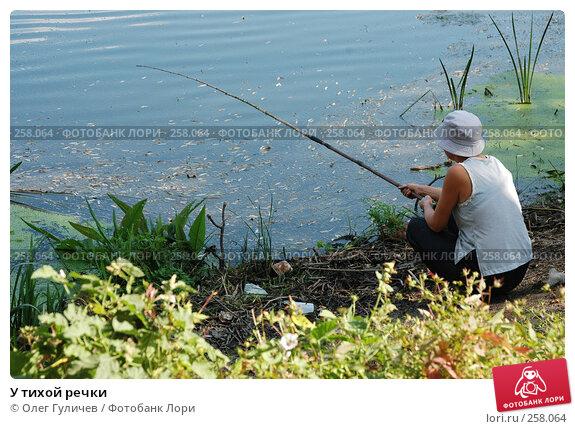 Купить «У тихой речки», фото № 258064, снято 13 сентября 2005 г. (c) Олег Гуличев / Фотобанк Лори