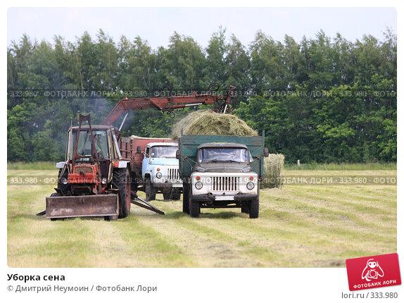 Уборка сена, эксклюзивное фото № 333980, снято 12 июня 2008 г. (c) Дмитрий Неумоин / Фотобанк Лори