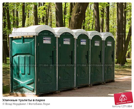 Уличные туалеты в парке, фото № 271884, снято 9 декабря 2016 г. (c) Влад Нордвинг / Фотобанк Лори