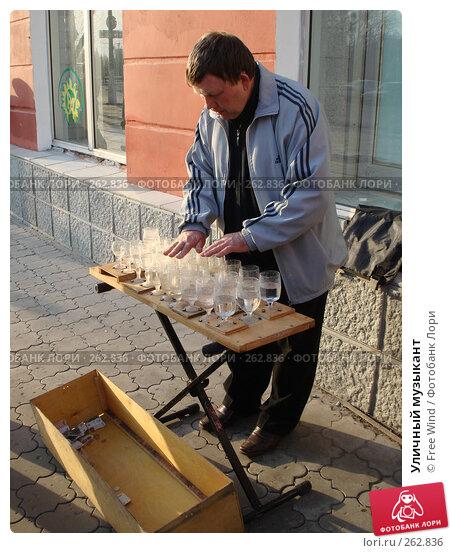 Купить «Уличный музыкант», эксклюзивное фото № 262836, снято 24 июля 2007 г. (c) Free Wind / Фотобанк Лори