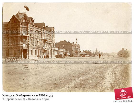 Улица г. Хабаровска в 1903 году, фото № 269564, снято 27 марта 2017 г. (c) Тарановский Д. / Фотобанк Лори