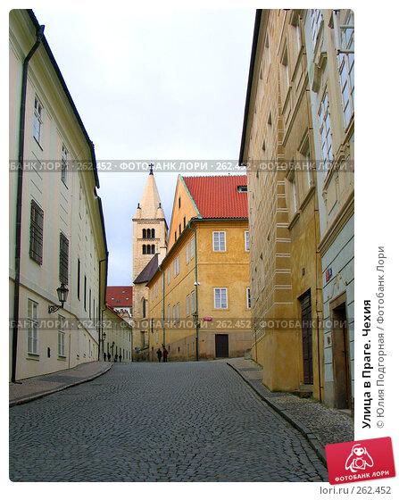 Улица в Праге. Чехия, фото № 262452, снято 17 марта 2008 г. (c) Юлия Селезнева / Фотобанк Лори
