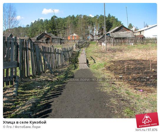 Улица в селе Кукобой, фото № 97876, снято 1 мая 2007 г. (c) Fro / Фотобанк Лори