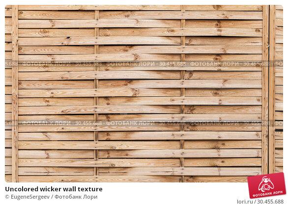 Uncolored wicker wall texture. Стоковое фото, фотограф EugeneSergeev / Фотобанк Лори