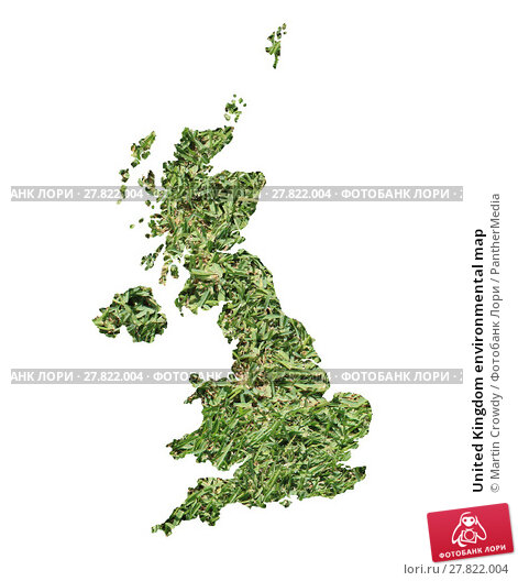 Купить «United Kingdom environmental map», фото № 27822004, снято 20 февраля 2018 г. (c) PantherMedia / Фотобанк Лори