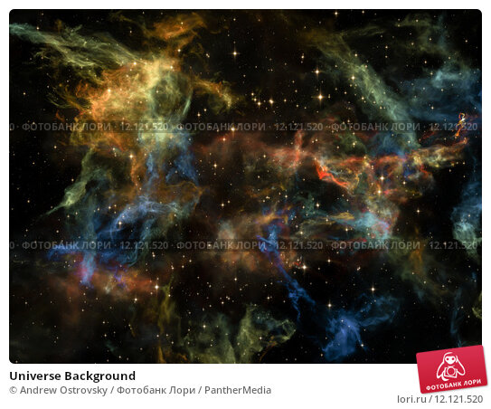 Купить «Universe Background», фото № 12121520, снято 22 июля 2019 г. (c) PantherMedia / Фотобанк Лори