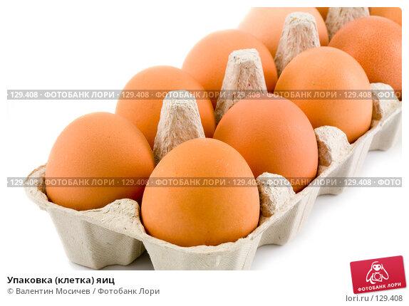 Купить «Упаковка (клетка) яиц», фото № 129408, снято 17 марта 2007 г. (c) Валентин Мосичев / Фотобанк Лори