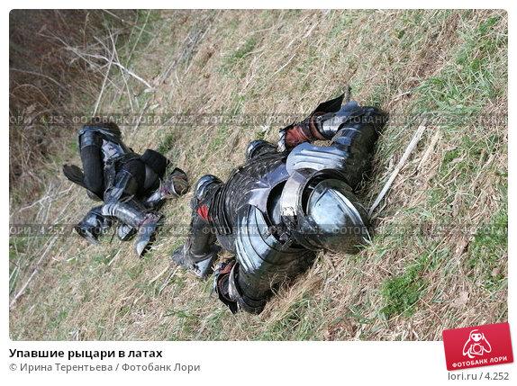 Упавшие рыцари в латах, эксклюзивное фото № 4252, снято 8 мая 2006 г. (c) Ирина Терентьева / Фотобанк Лори