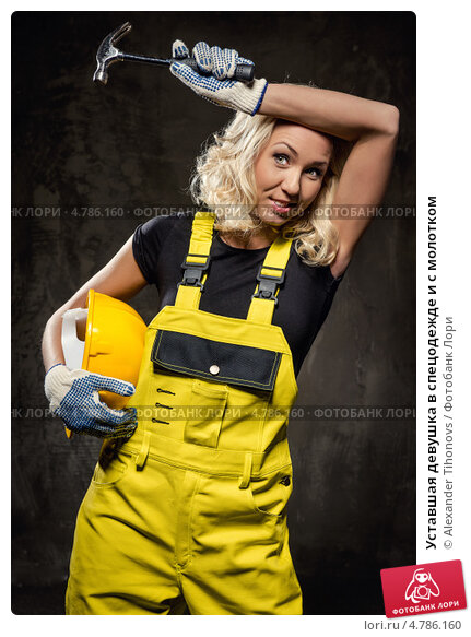 Фото девушку трахат отбойный молоток