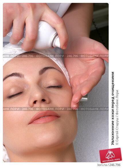 Увлажнение кожи перед очищением, фото № 246796, снято 2 марта 2008 г. (c) Сергей Старуш / Фотобанк Лори