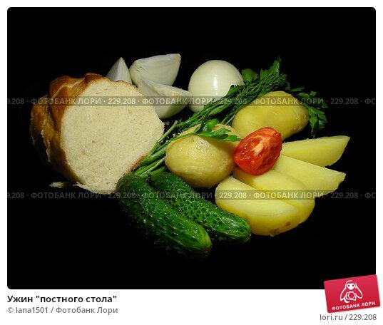 """Ужин """"постного стола"""", эксклюзивное фото № 229208, снято 21 марта 2008 г. (c) lana1501 / Фотобанк Лори"""