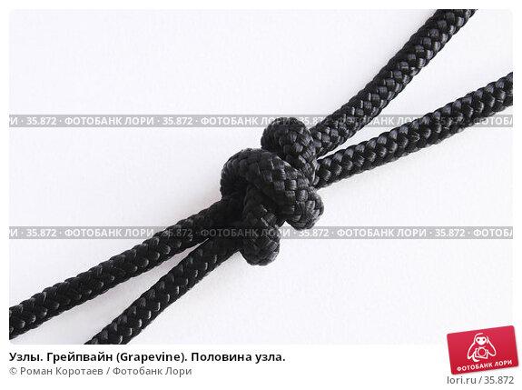 Узлы. Грейпвайн (Grapevine). Половина узла., фото № 35872, снято 22 апреля 2007 г. (c) Роман Коротаев / Фотобанк Лори