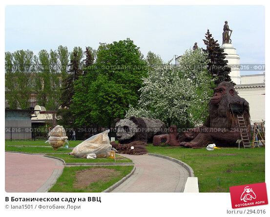 В Ботаническом саду на ВВЦ, эксклюзивное фото № 294016, снято 1 мая 2008 г. (c) lana1501 / Фотобанк Лори
