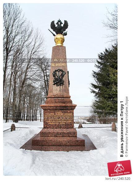 Купить «В дань уважения к Петру 1», фото № 240520, снято 24 февраля 2008 г. (c) Parmenov Pavel / Фотобанк Лори