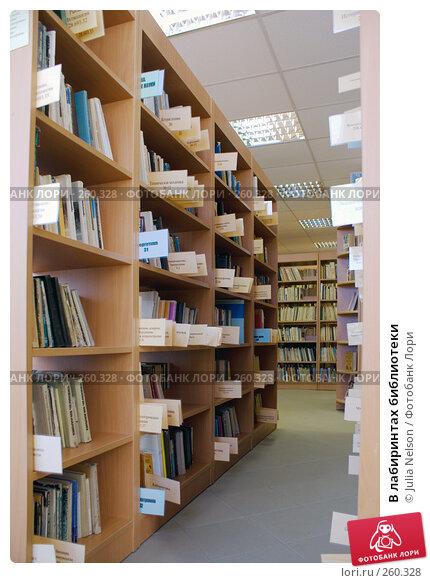 В лабиринтах библиотеки, фото № 260328, снято 23 апреля 2008 г. (c) Julia Nelson / Фотобанк Лори