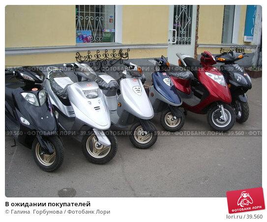 В ожидании покупателей, фото № 39560, снято 28 апреля 2006 г. (c) Галина  Горбунова / Фотобанк Лори