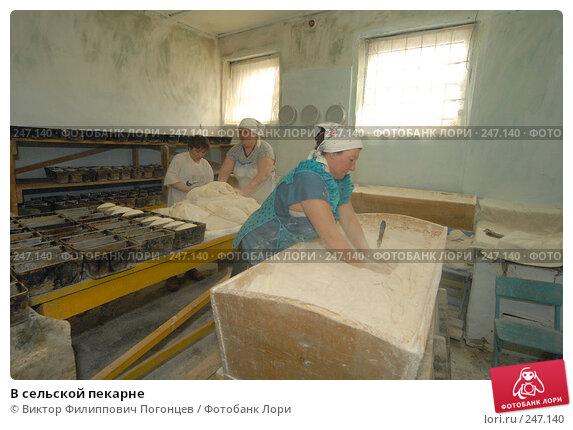 В сельской пекарне, фото № 247140, снято 6 апреля 2006 г. (c) Виктор Филиппович Погонцев / Фотобанк Лори