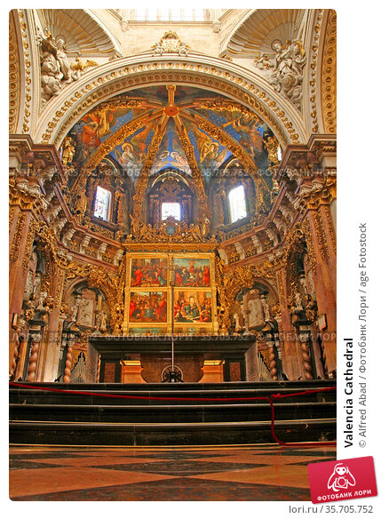 Valencia Cathedral. Стоковое фото, фотограф Alfred Abad / age Fotostock / Фотобанк Лори