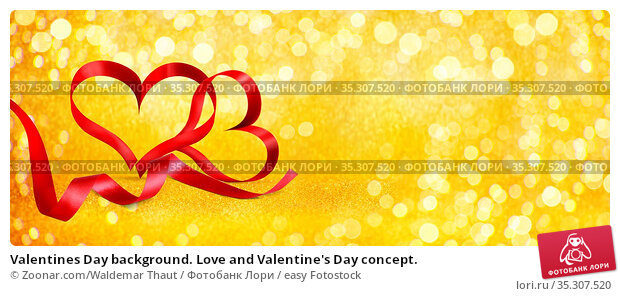 Valentines Day background. Love and Valentine's Day concept. Стоковое фото, фотограф Zoonar.com/Waldemar Thaut / easy Fotostock / Фотобанк Лори