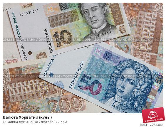 Купить «Валюта Хорватии (куны)», фото № 244864, снято 7 апреля 2008 г. (c) Галина Лукьяненко / Фотобанк Лори