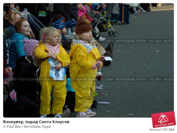 Ванкувер, парад Санта Клаусов, фото № 131084, снято 25 ноября 2007 г. (c) Paul Bee / Фотобанк Лори